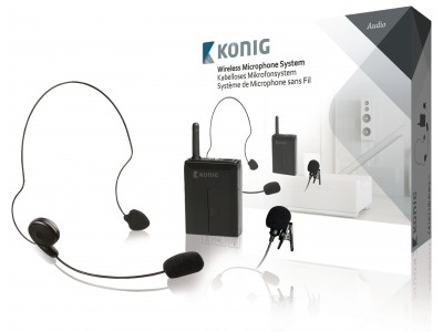 Microfoon Draadloze Bodypack