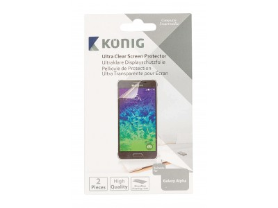 Ultra clear screenprotector voor Galaxy Alpha
