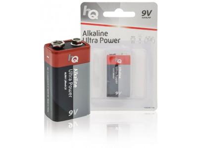6x Alkaline 9V-batterij Ultra Power