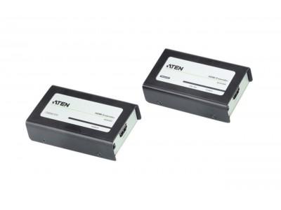 HDMI Verlenger HDMI-Ingang - HDMI-Uitgang Zwart