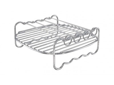 Air Fryer Rack Zilver