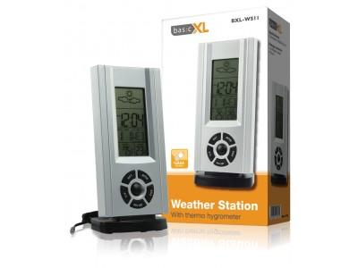 Weerstation met thermo-hygrometer