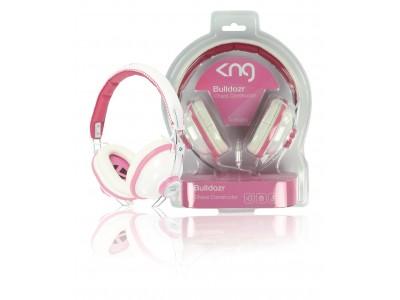 Hoofdtelefoon On-Ear 3.5 mm Bedraad Roze