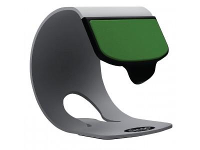 Smartphone Stand Universal Aluminium Wit / Groen