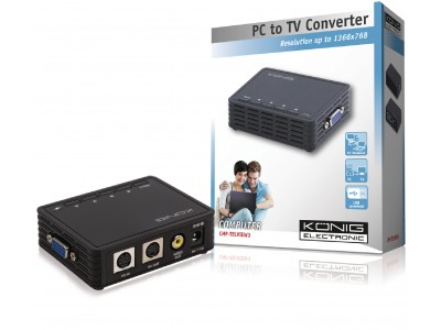 PC naar TV converter