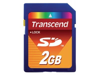SD-kaart class 4 - 2 GB