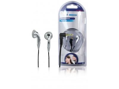 Hoofdtelefoon In-Ear 3.5 mm Bedraad Zilver