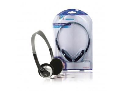 Hoofdtelefoon On-Ear 3.5 mm Bedraad Zilver