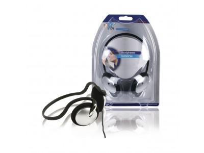 Hoofdtelefoon On-Ear 3.5 mm Bedraad Zilver / Zwart
