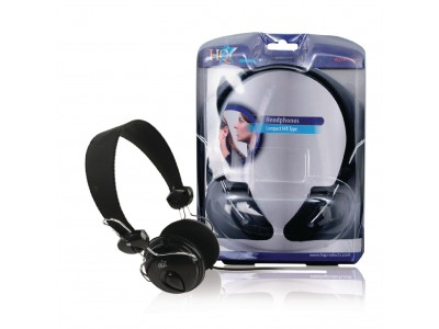 Hoofdtelefoon On-Ear 3.5 mm Bedraad Zwart