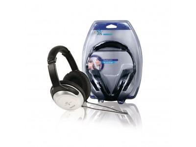 Hoofdtelefoon Over-Ear 3.5 mm Bedraad Zilver / Zwart