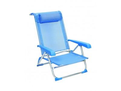Beach chair de luxe