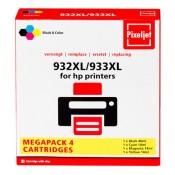 Cartridge Megapack HP 4-pack (1x zwart 932XL en 3x kleur 933XL)