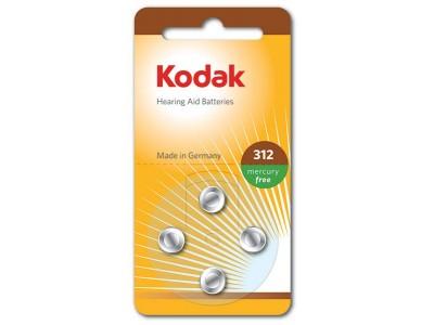 Kodak batterijen voor Gehoorapparaat (type 312)