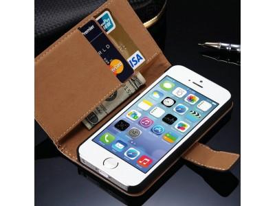 Lederen Smartphonehoesje