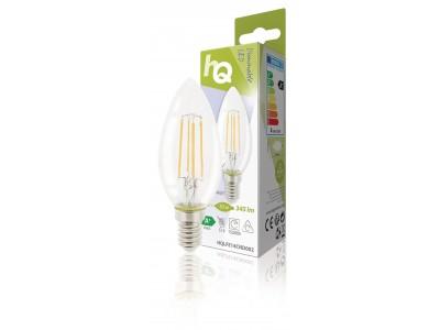 Dimbare retro filament LED-lamp E14 4 watt 345 lumen