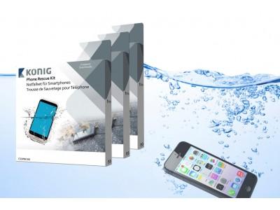 Smartphone waterschade reddingset