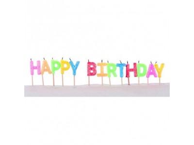 Verjaardagskaars 7 centimeter