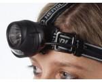 Handige hoofdlamp voor op de fiets, wandelen of op reis