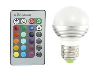 Geef je huis kleur met LED lamp (3 stuks)